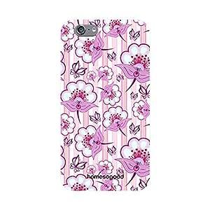 HomeSoGood Floral Shower Multicolor Pattern 3D Mobile Case For iPhone 6 (Back Cover)
