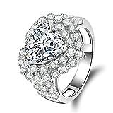 Best AnaZoz diamante Collares - AnazoZ Anillos Plata de Ley Mujer 925 Originales Review