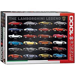 """Eurographics """"El Lamborghini Leyenda Puzzle (1000Piezas, Multicolor)"""
