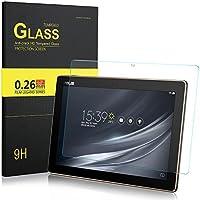 ELTD ASUS Z301M / Z301MF / Z301ML / Z301MFL / Z300M Protection écran, Dureté 9H, 2.5D Bords Arrondis Film Protection d'écran en Verre Trempé pour ASUS ZenPad 10 Z301M / Z301MF / Z301ML / Z301MFL / Z300M Tablette, (1-Pack)