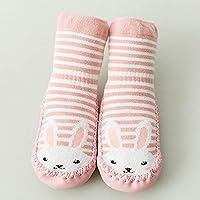 Wzbb Calcetines Otoño E Invierno Calcetines De Bebé Recién Nacidos Calcetines De Algodón para Hombres Y Mujeres Zapatos para Bebés Pequeños con Fondo Blando De 0 A 12 Años De Edad De 6 A 12 M