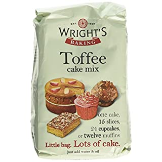 Wright's Baking Toffee Cake Mix 500 g (Pack of 1, Total 5)