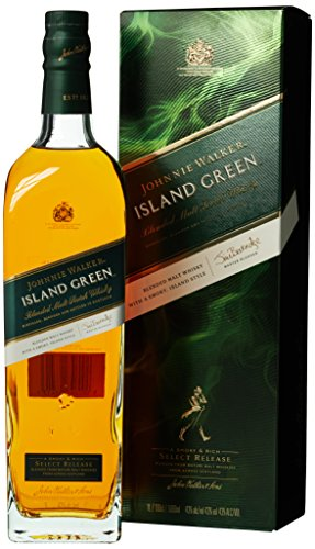 *Johnnie Walker ISLAND GREEN Blended Malt Scotch Whisky Select Release mit Geschenkverpackung (1 x 1 l)*