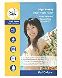 #9: Full Colors High Glossy Inkjet 5R Photo Paper Water Resistant Super White Instant Dry