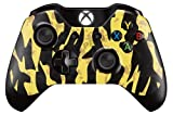 Xbox One Controller Skin Sticker Design Aufkleber - Schwarz & Gelb (Black Shark Camo - BF4) Camo