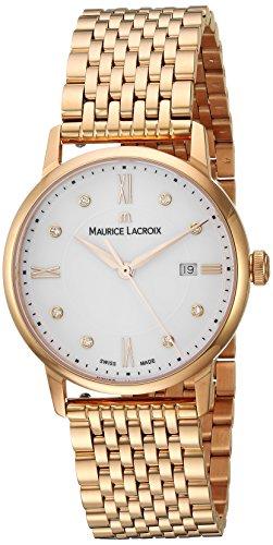 Maurice Lacroix EL1094-PVP06-150-1 - Orologio da polso Donna, Acciaio inox, colore: Oro