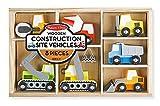 #10: Melissa & Doug Wooden Construction Site Vehicles