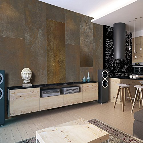 murando - PURO TAPETE - Realistische Tapete ohne Rapport und Versatz - Kein sich wiederholendes Muster - 10m Vlies Tapetenrolle - Wandtapete - modern design - Fototapete - Textur f-A-0421-j-a