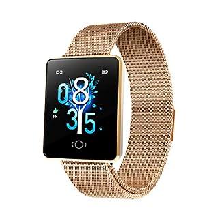 Smartwatch-mit-Pulsmesser-Damen-Aomili-Bluetooth-Sportuhr-Fitnessuhr-Intelligente-Armbanduhr-mit-Schrittzhler-Pulsmesser-Schlafmonitor-fr-Android-IOS