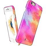 Custodia iPhone 6 6s sottile, Akna® Serie Ossessione Vintage Impatto elevato Custodia per iPhone 6 / iPhone 6s [Flamingo]