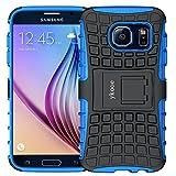 ykooe Handys Schutzhülle Ständer für Samsung Galaxy s6 Hülle 5.1 Zoll