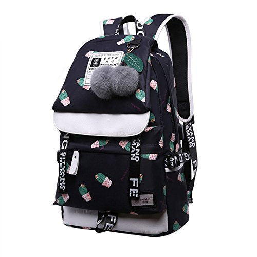 Niedlicher Kaktus-Druck-Schulrucksack - Ogio Messenger Tasche