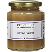 L'Epicurien Banane Flambée Confiture 320 g - Pack de 3