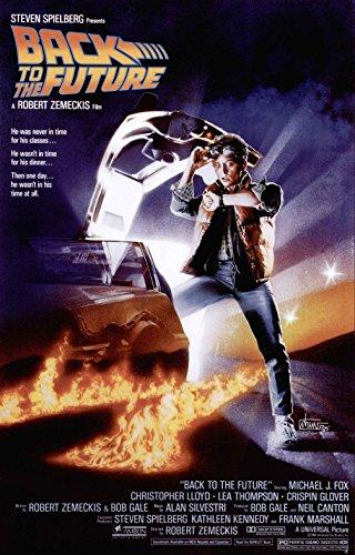 Back To The Future 2 Movie Poster carta lucida, carta lucida, A3 - 297mm x 432mm - Medium