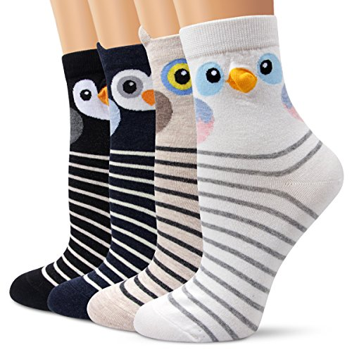 Ambielly Socken aus Baumwolle Thermal Socken Erwachsene Unisex Socken Frauen Socken Dame Socken Mädchen Socken Lässige Socken (706A)