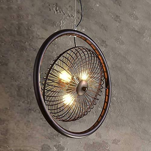 Bronze Flush Mount Decke Licht (Giow Öl eingerieben Bronze Vintage Scheune Metall Deckenleuchter, 3 Licht in der Nähe der Decke Semi Flush Mount Light)