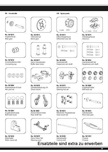 Akron Monstertruck 1:10 BL 4WD Lipo 2,4G- Allrad, Brushless, Akku, 60Kmh, Aluchassis, spritzwasserfest, Öldruckstoßdämpfer, Kugellager, Fahrwerk einstellbar, fahrfertig - 9