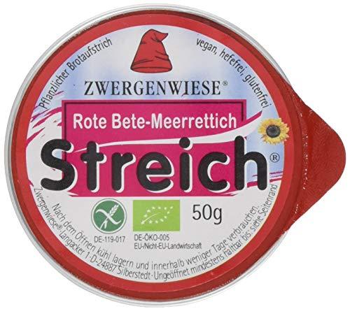 Zwergenwiese Kleiner Streich Rote Bete Meerrettich, 12er Pack (12 x 50 g)