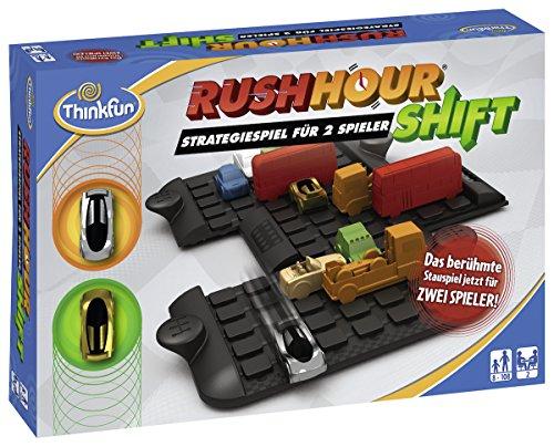 Ravensburger 76306 ThinkFun Rush Hour Shift Spiel - Smart Game (Rush Online Hour Spiel)