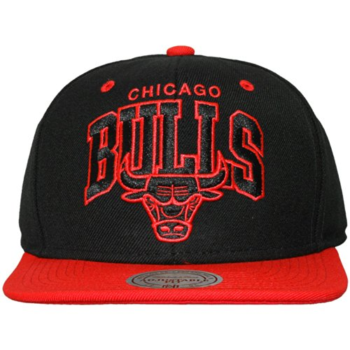 Mitchell And Ness - Casquette Snapback Homme Chicago Bulls Guard - Black