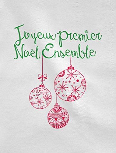 Green Turtle T-Shirts 1er Noël Ensemble Futur Parent Set Familial Débardeur Femme Blanc
