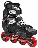 Powerslide HC EVO 2.0 80 FSK Freeskates Inline-Skates schwarz-rot