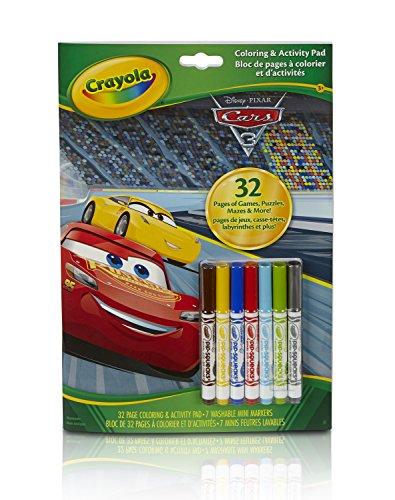 0 Disney Pixar Cars Malbuch, Bunt ()