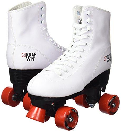 Krafwin Patines Roller Clasico blanco 39