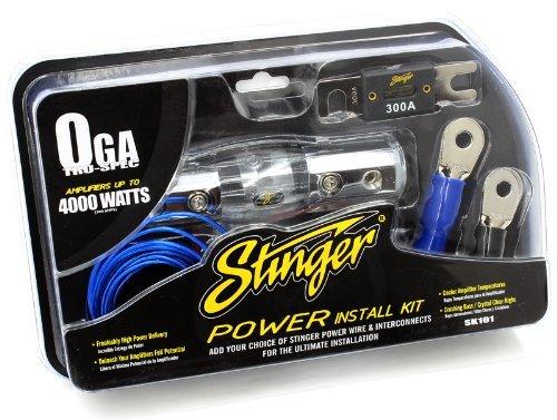Stinger SK1014000-watt 1/Elektrosatz (Drahtgröße 0Auto-Audio-Verstärker Zubehör Kit (Audio-verstärker 4000 Watt)
