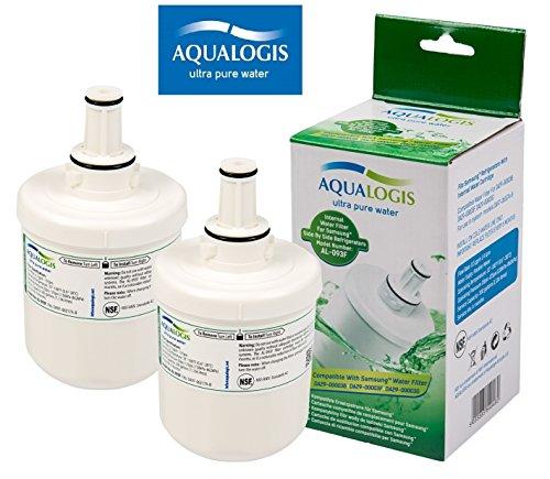 2 x AL-093F ersetzt SAMSUNG Aqua-Pure Plus DA29-00003F / DA29-00003G - (altes Modell) DA29-00003A / DA29-00003B / Kühlschrankfilter