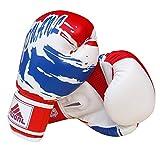 MMA Muay Thai Formation Gants de boxe pour Fighters–Bleu et Blanc