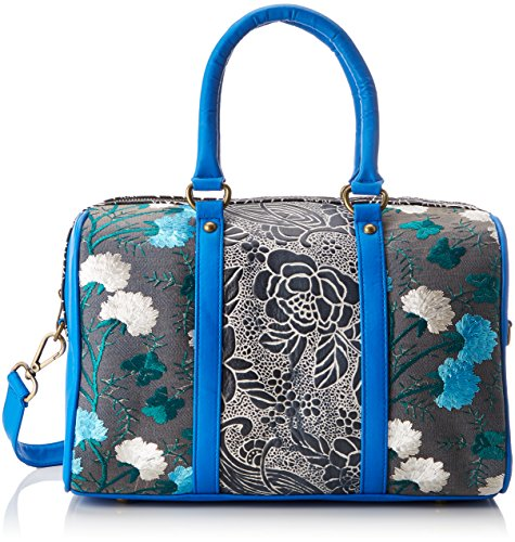 Laura Vita Damen Domont Bowling Tasche, Blau (Bleu), 15x22x33 cm (Bowling-leder-bowling-schuhe)