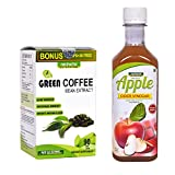 #9: Neuherbs Green Coffee Bean Extract For Weight Loss - 90 Capsules with Apple Cider Vinegar Mother 350 ml Free Free................