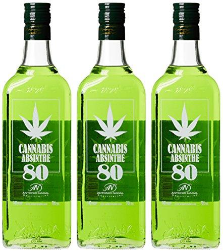 Antonio Nadal Túnel Cannabis Absinthe 80 Wermut (3 x 0.7 l)