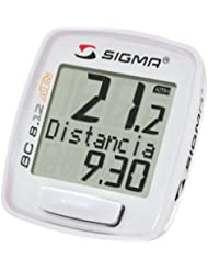 Sigma 08130 BC 8.12 ATS - Ciclocomputador, color blanco