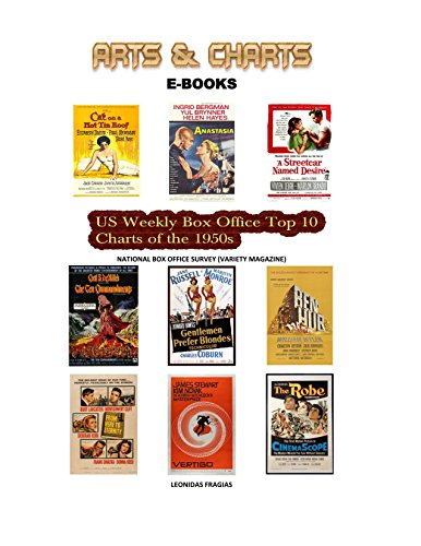 US Weekly Box Office Top 10 Charts of the 1950s (English Edition)