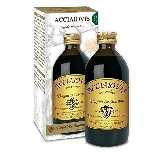 ACIERVIS 200 ml liquide sans alcool