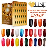 VB Line Adventskalender 24 Nagellack zum Abziehen - Countdown to Merry Christmas!