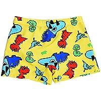 Ouken Niños Impermeables Que nadan los Troncos con los Pantalones Cortos Impresos del Traje de baño