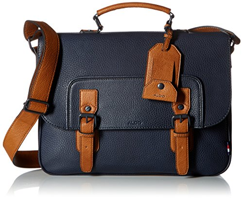NORMAN Messenger Bag, Navy Miscellaneous, One Size (Aldo-computer)