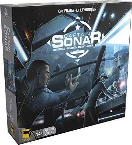 Captain SONAR Board Game - English Edition