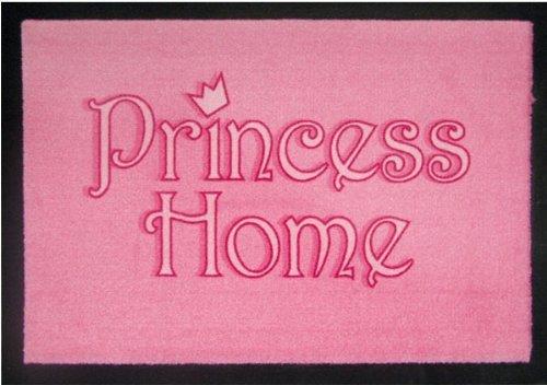 Fussmatte Princess Home Pink Fußmatte Schmutzmatte Türabstreifer Fußabtreter