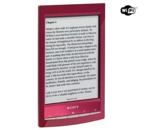 SONY E-Reader PRS-T1 - Rot + 2 JAHRE GARANTIE