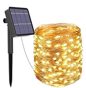 Guirnalda Luces Exterior Solar, Kolpop