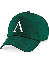 4sold casquette garcon Baseball Cap Fille Enfants Chapeau Bonnet Unisexe Botte Green A-Z Alphabet