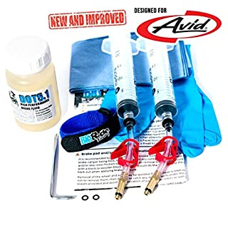 Brake Bleed Kit for Avid (inc 100ml DOT 5.1 Fluid)