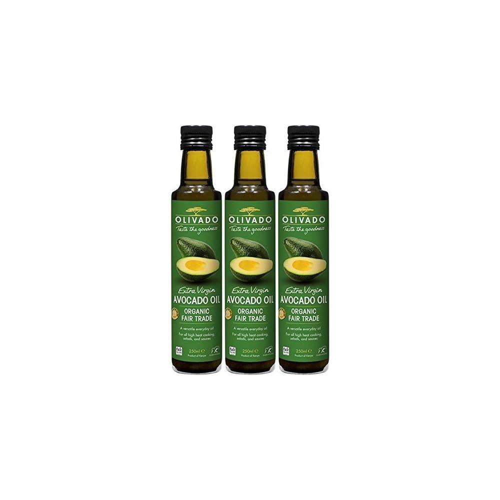 Olivado Org Extra Virgin Avocado Oil 250ml Bundle By Olivado