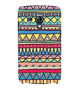 Amazing Design Pattern 3D Hard Polycarbonate Designer Back Case Cover for Samsung Galaxy S3 Mini :: Samsung Galaxy S3 Mini i8190