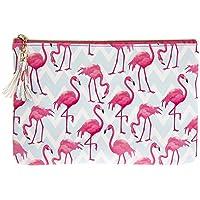 SOLEFAVORS Flamingo Bay Clutch
