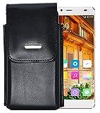 Vertikal Etui für / Elephone S3 / Köcher Tasche Hülle Ledertasche Vertical Case Handytasche mit einer Gürtelschlaufe auf der Rückseite